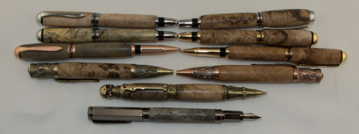 Wood Burl Pen